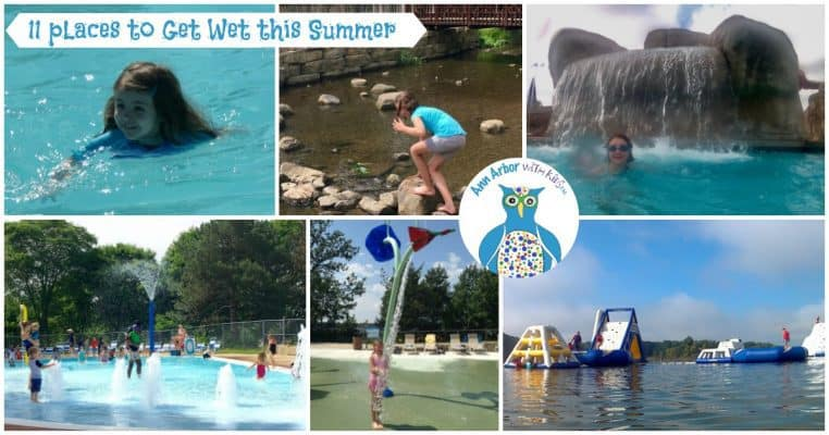Ann Arbor Swimming Pools & Other Places to Get Wet