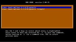 Super Grub2 Disk - Detect any Operating System - Linux kernels detected screenshot