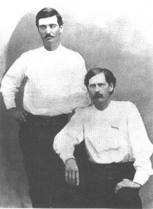 wyatt earp and bat masterson