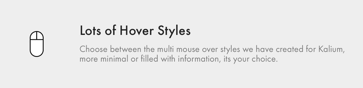 Modern Hover Syles