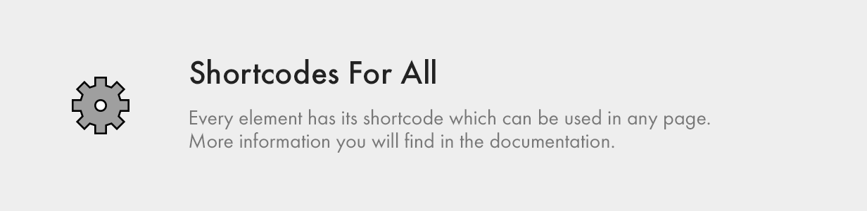 Shortcodes for All