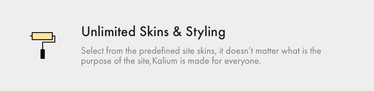 Unlimited Skins and Styling