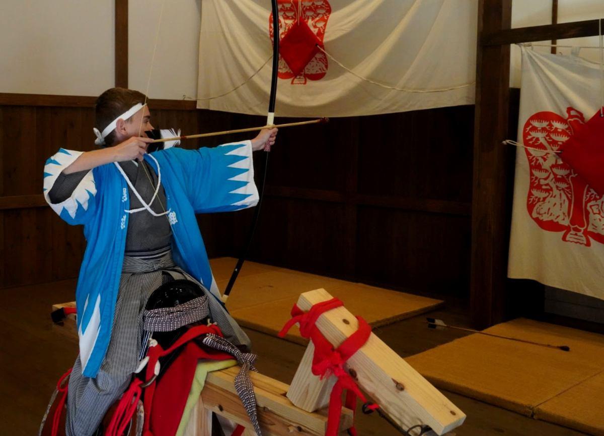 Edo Wonderland Horseback Archery Class