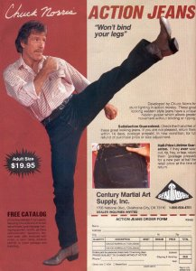 Chuck Norris Information, Quotes, & Going To Bed Stories