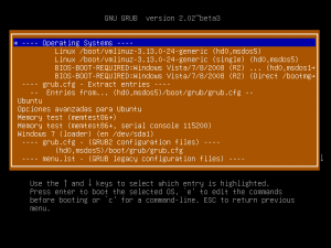 Super Grub2 Disk 2.02s5 - Detect and show boot methods in action
