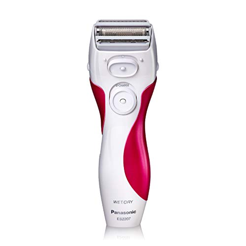 Panasonic Electric Shaver for Women, ES2207P, Close Curves Electronic Shaver, 3-Blade Cordless...