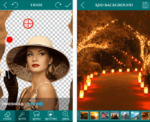 Ultimate Background Eraser is something that makes this app a very fantastic choice for the users.