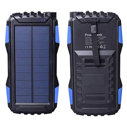 Friengood 25000mAh Portable Solar Power Bank