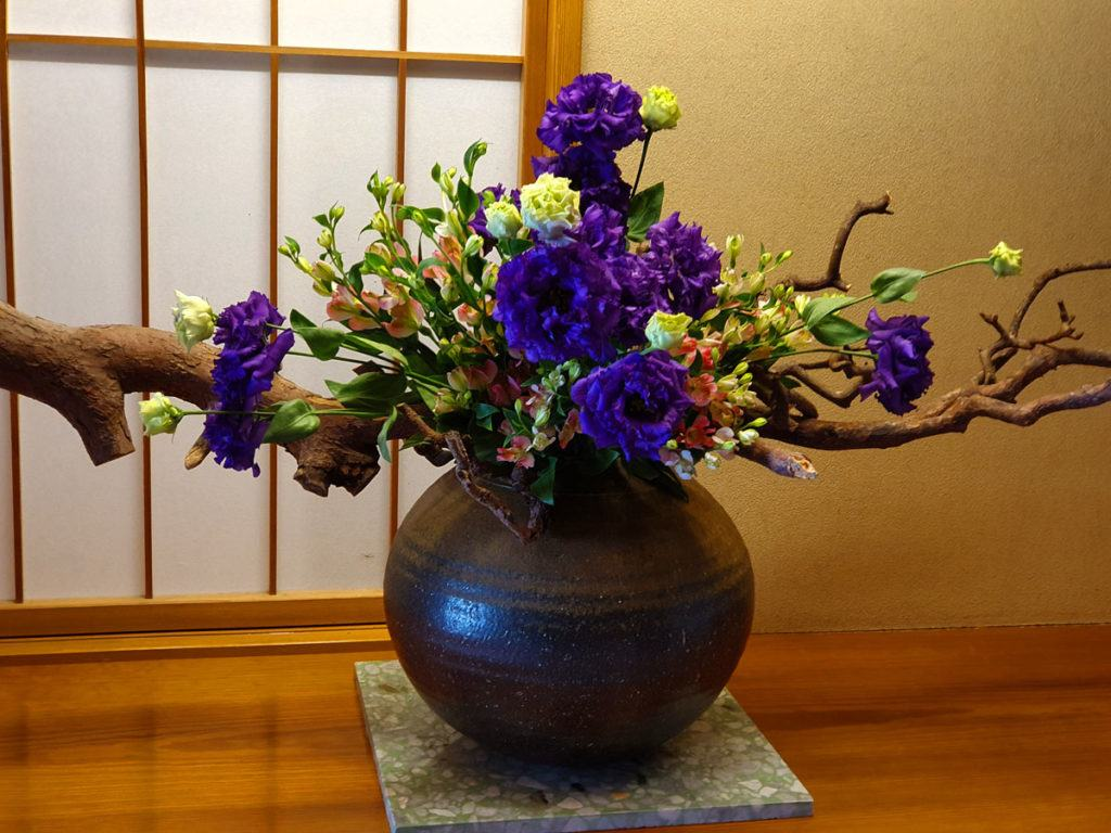 Flower Arrangement at Kai Nikko