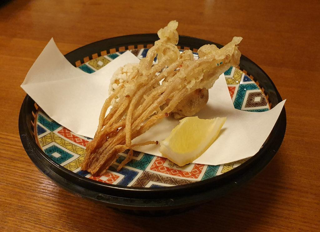 Deep-Fried Tempura - Potato, Taro and Kelp