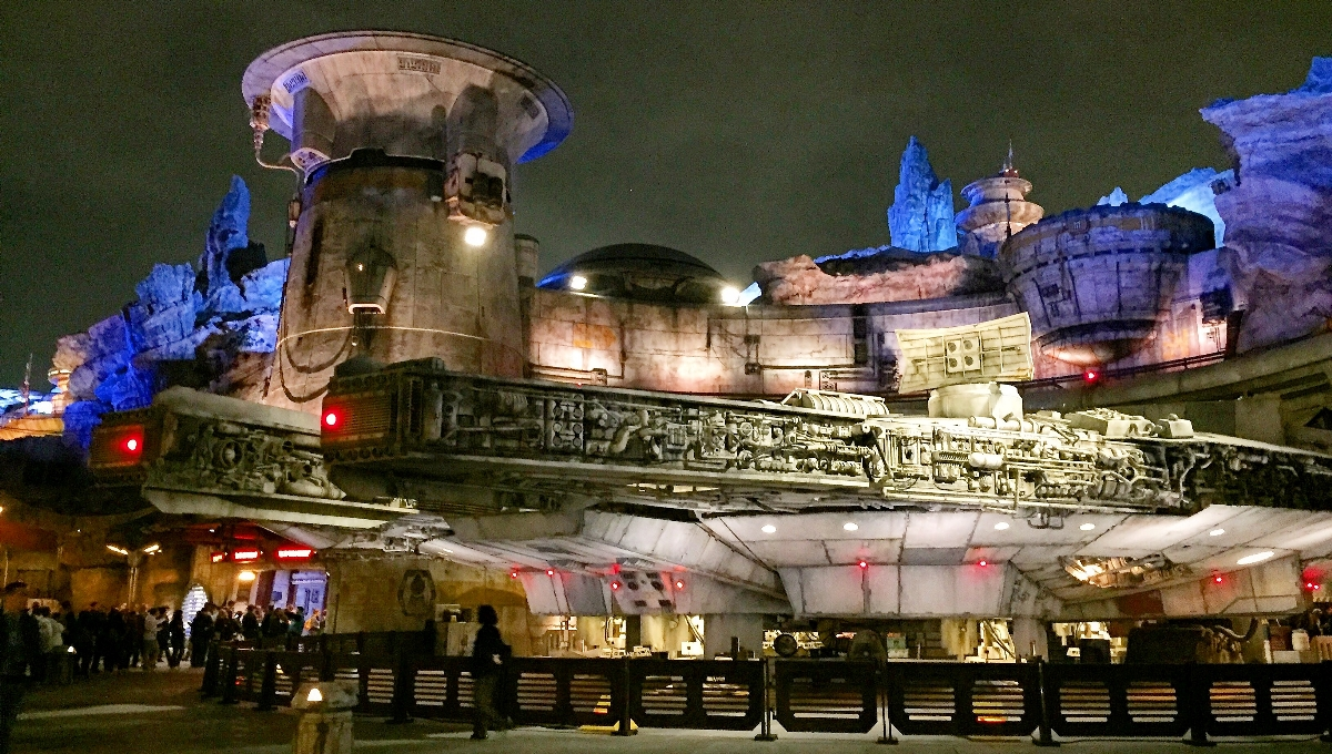 Disneyland without a car lets you see the new Star Wars attraction.