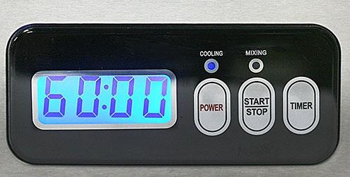 Whynter ICM-15LS control panel