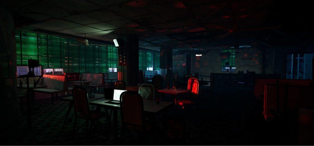 Modular Scene in UE4: Blockout, Vertex Paint, Decals