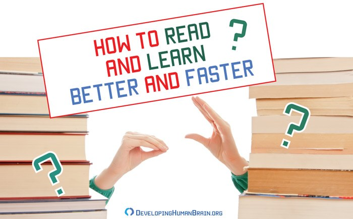 how to read and learn better and faster