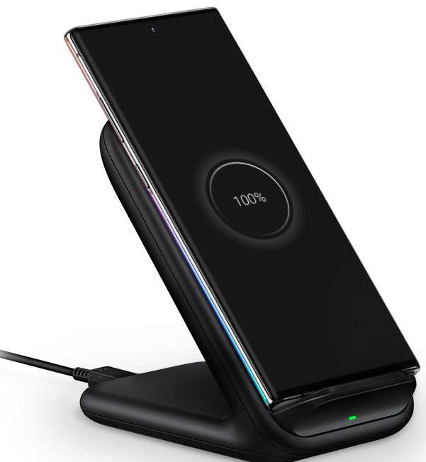 Place Galaxy Note 10 or Note 10+ in the wireless charging pad
