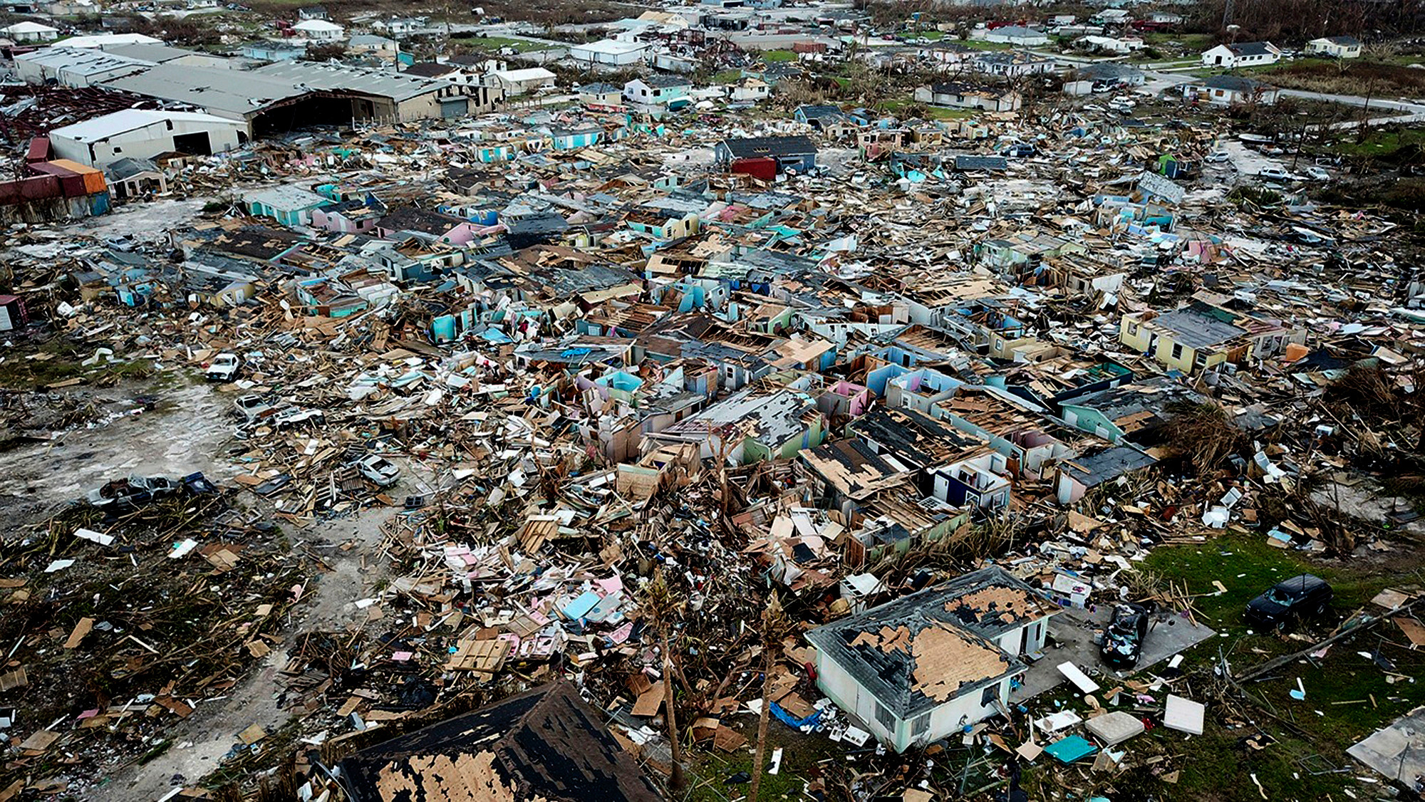 Tens of thousands now need vital help in the north of the Bahamas