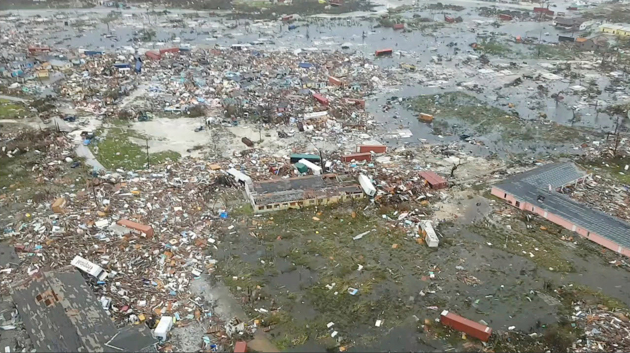 The death toll of 30 is still expected to rise in the Bahamas