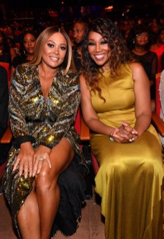 ATLANTA, GEORGIA - SEPTEMBER 05: Tamia and Yolanda Adams attend 2019 Black Music Honors at Cobb Energy Performing Arts Centre on September 05, 2019 in Atlanta, Georgia. (Photo by Paras Griffin/Getty Images for Black Music Honors)