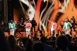 ATLANTA, GEORGIA - SEPTEMBER 05: Jagged Edge perform onstage during 2019 Black Music Honors at Cobb Energy Performing Arts Centre on September 05, 2019 in Atlanta, Georgia. (Photo by Paras Griffin/Getty Images for Black Music Honors)