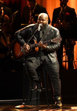ATLANTA, GEORGIA - SEPTEMBER 05: Leon Timbo onstage during 2019 Black Music Honors at Cobb Energy Performing Arts Centre on September 05, 2019 in Atlanta, Georgia. (Photo by Paras Griffin/Getty Images for Black Music Honors)