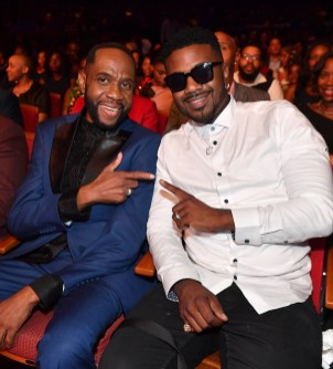 ATLANTA, GEORGIA - SEPTEMBER 05: Freddie Jackson and Ray J attend 2019 Black Music Honors at Cobb Energy Performing Arts Centre on September 05, 2019 in Atlanta, Georgia. (Photo by Paras Griffin/Getty Images for Black Music Honors)