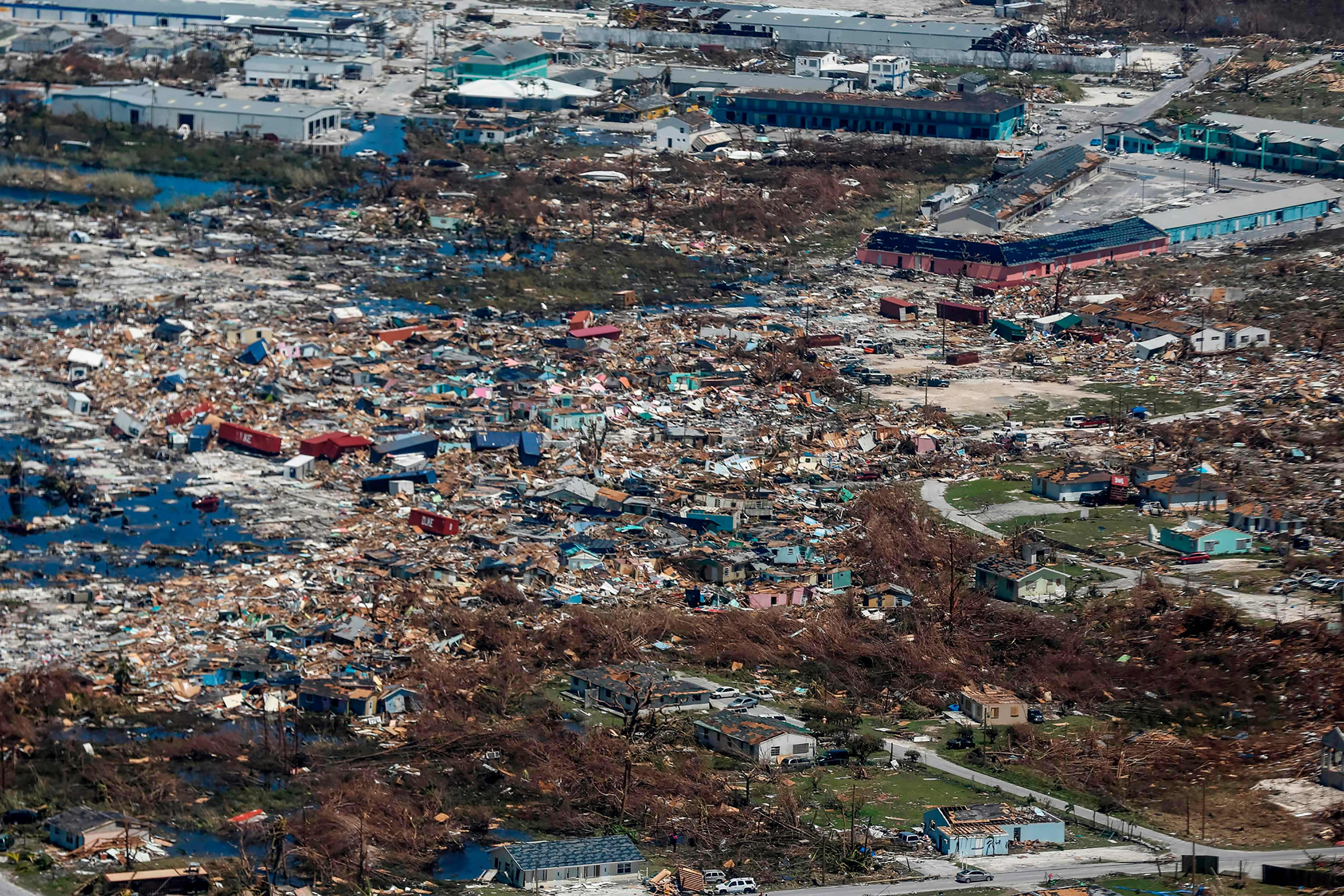 The 225mph megastorm bought near-total devastation to the Abaco Island