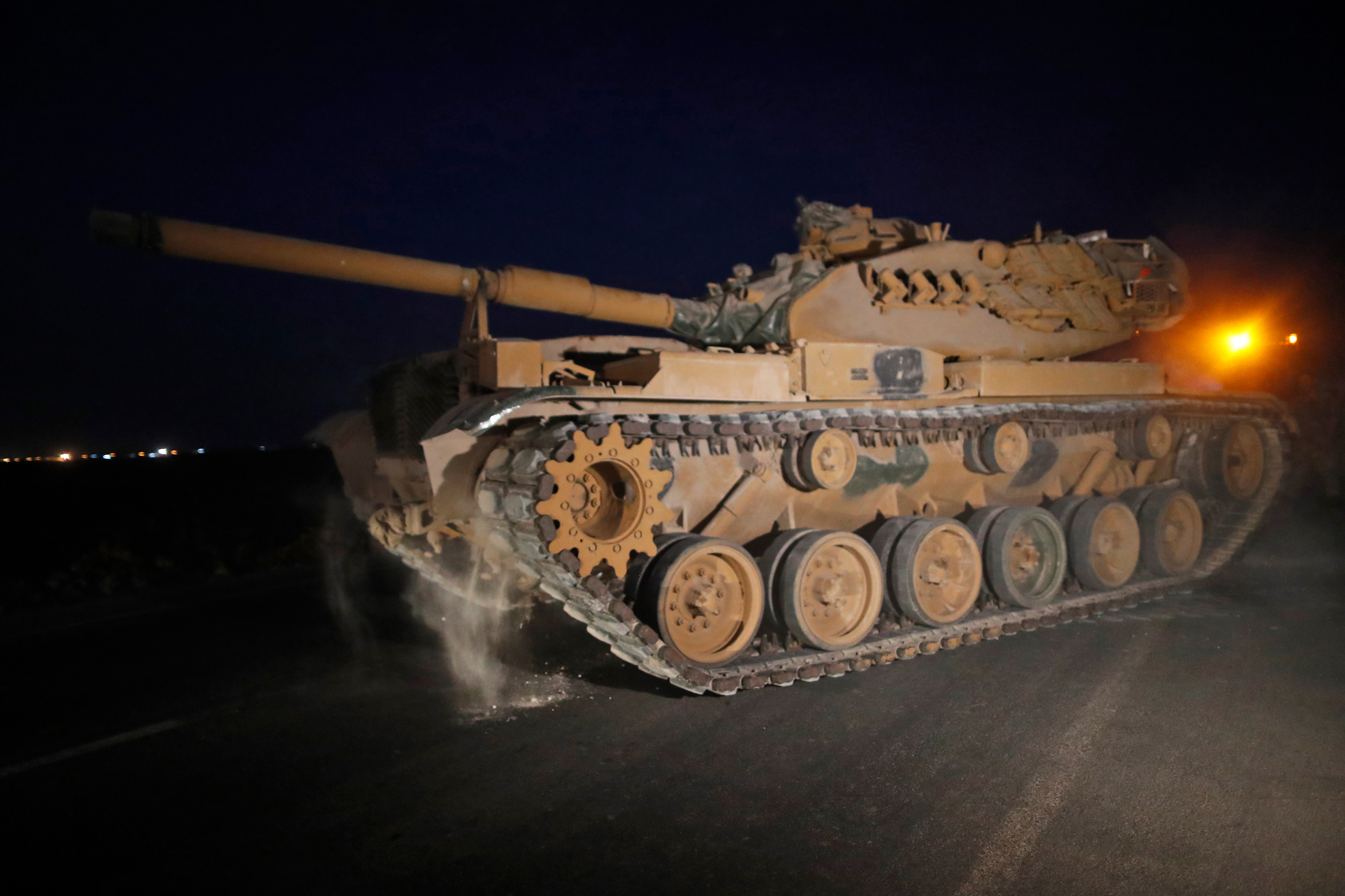 Turkey has begun its attack on Kurdish forces in Iraq and Syria