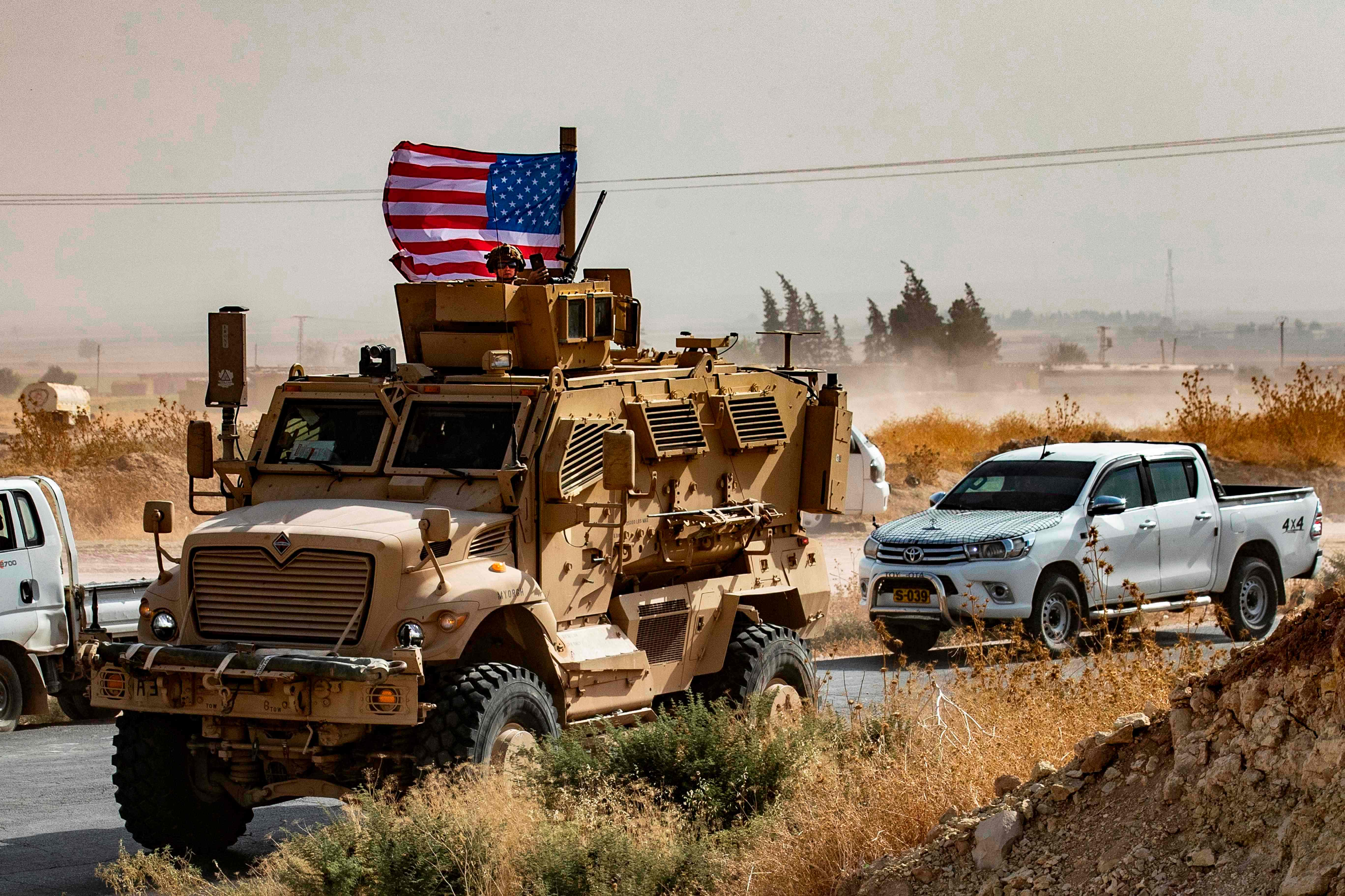 US troops have now been ordered to pull out of the region