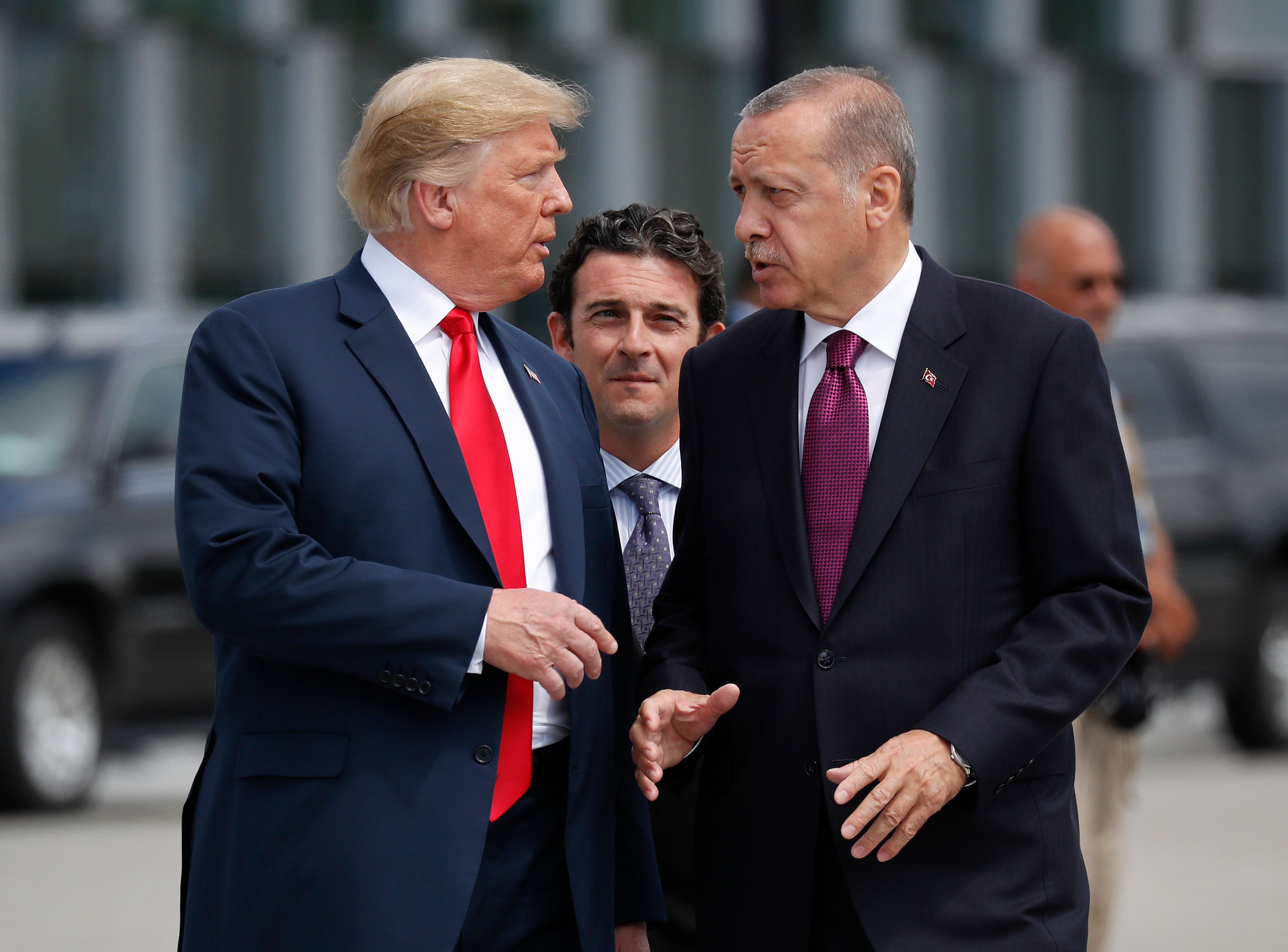 Trump and Turkish President Recep Tayyip Erdogan spoke over the phone before the shock announcement