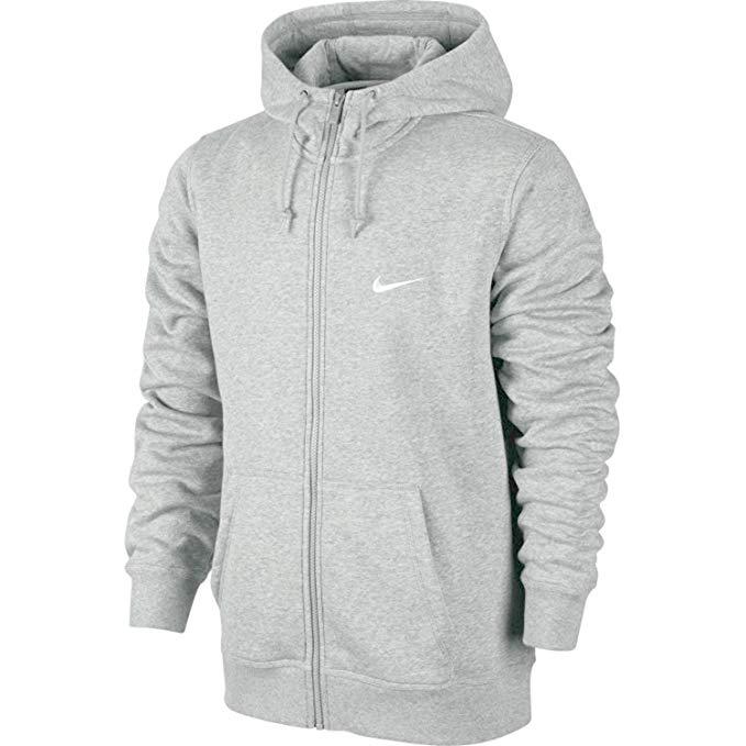 Nike Club Swoosh Full-Zip Fleece Hoodie