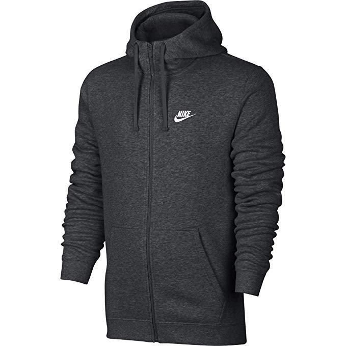 Nike Sportswear Club Full Zip-Up Hoodie