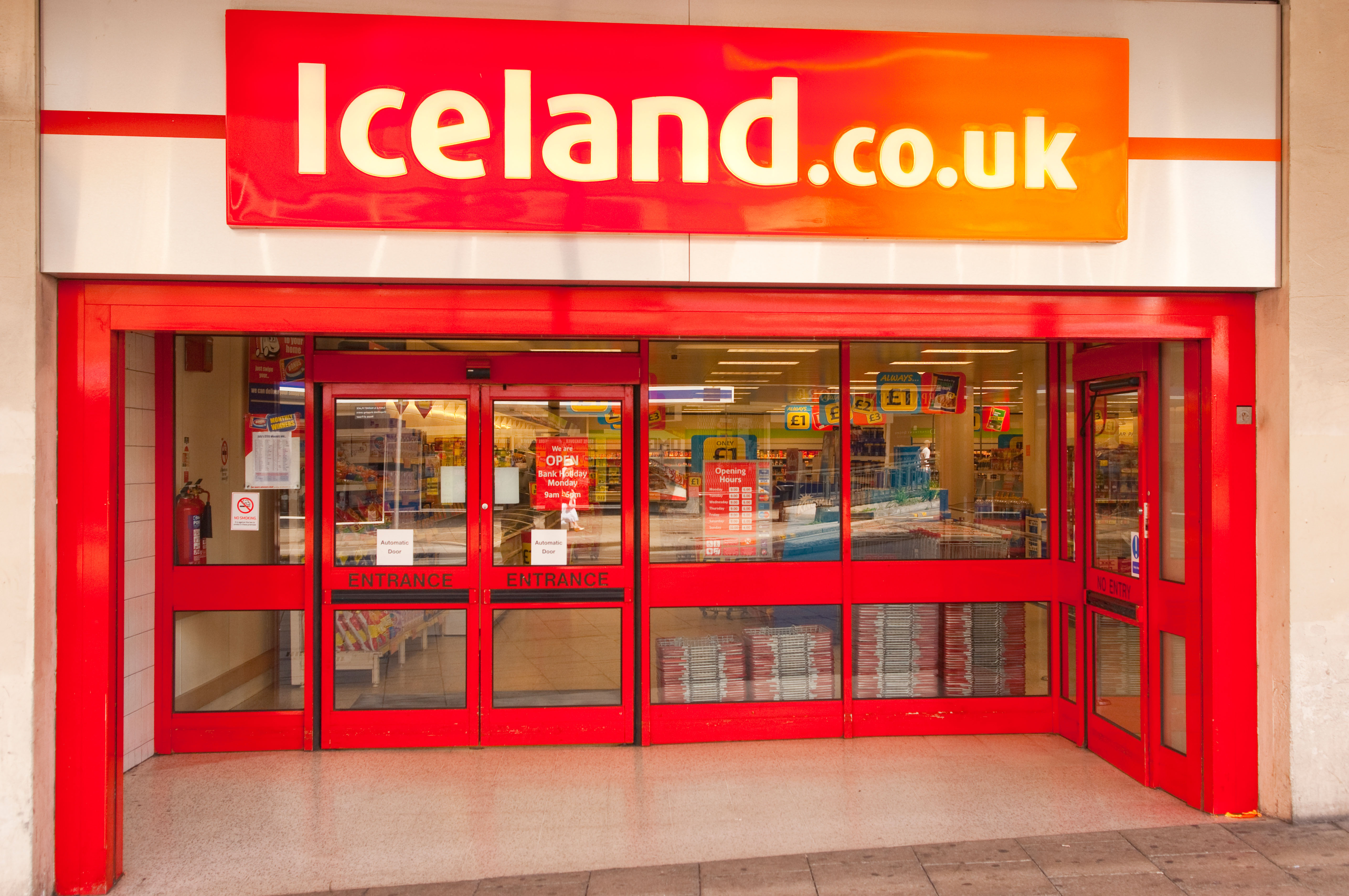 Iceland's Bonus card saves money on to it for future shops and is incredibly flexible