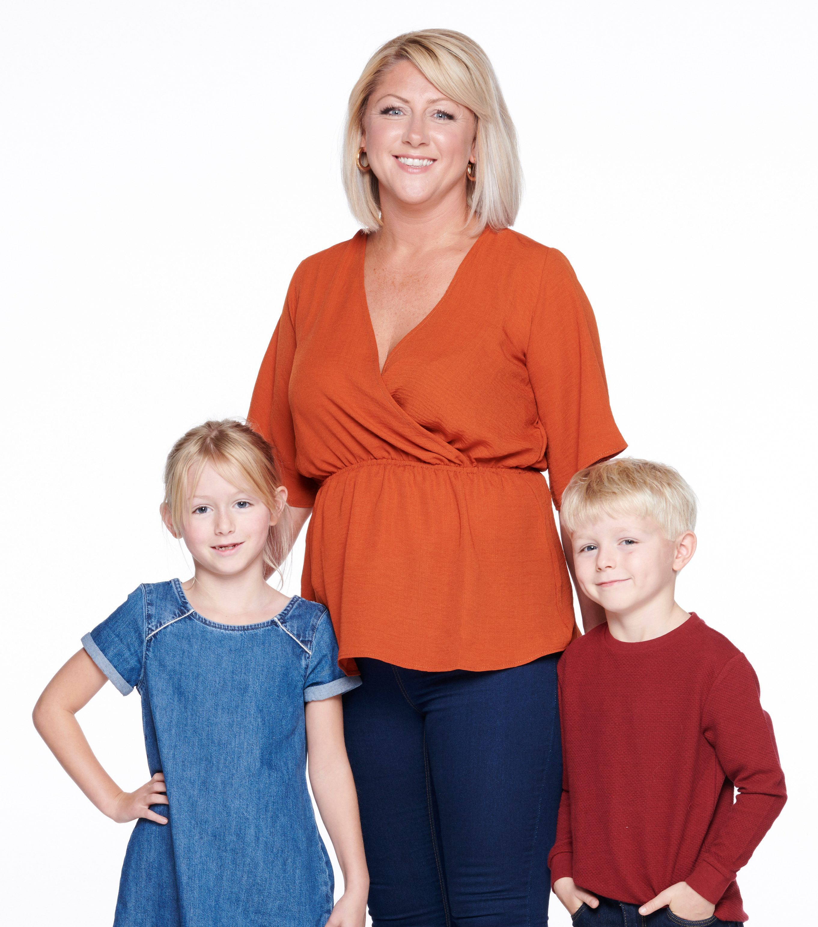 Jill, 40, is a single mother to Tilly, eight and Edward, six