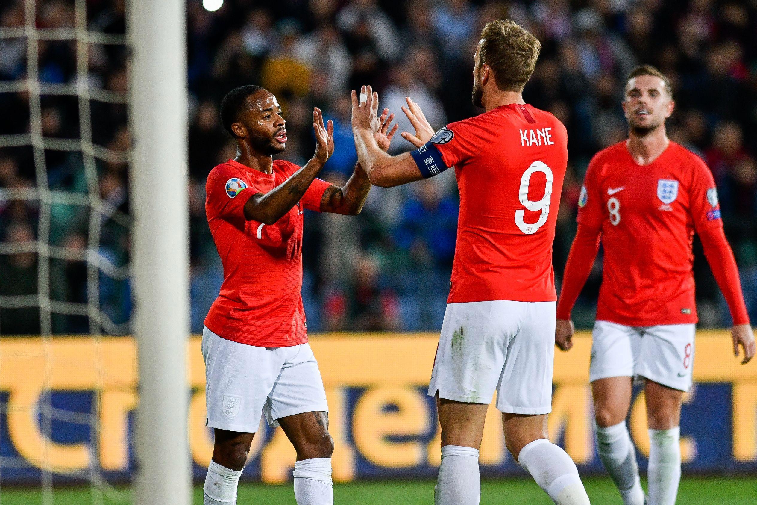 Raheem Sterling scored twice in the win