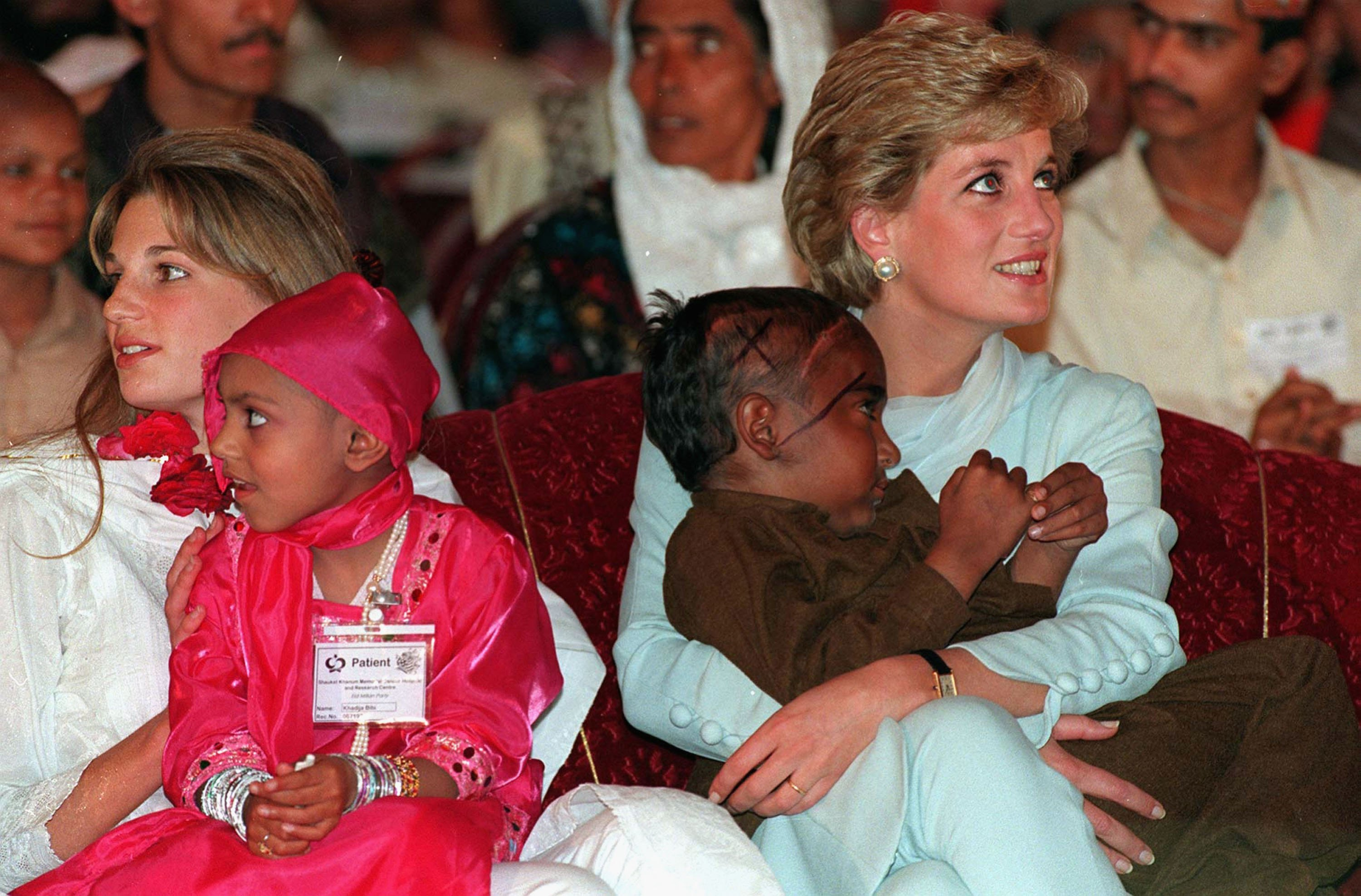 The royal couple are following in the footsteps of Princess Diana, who visited the country three times
