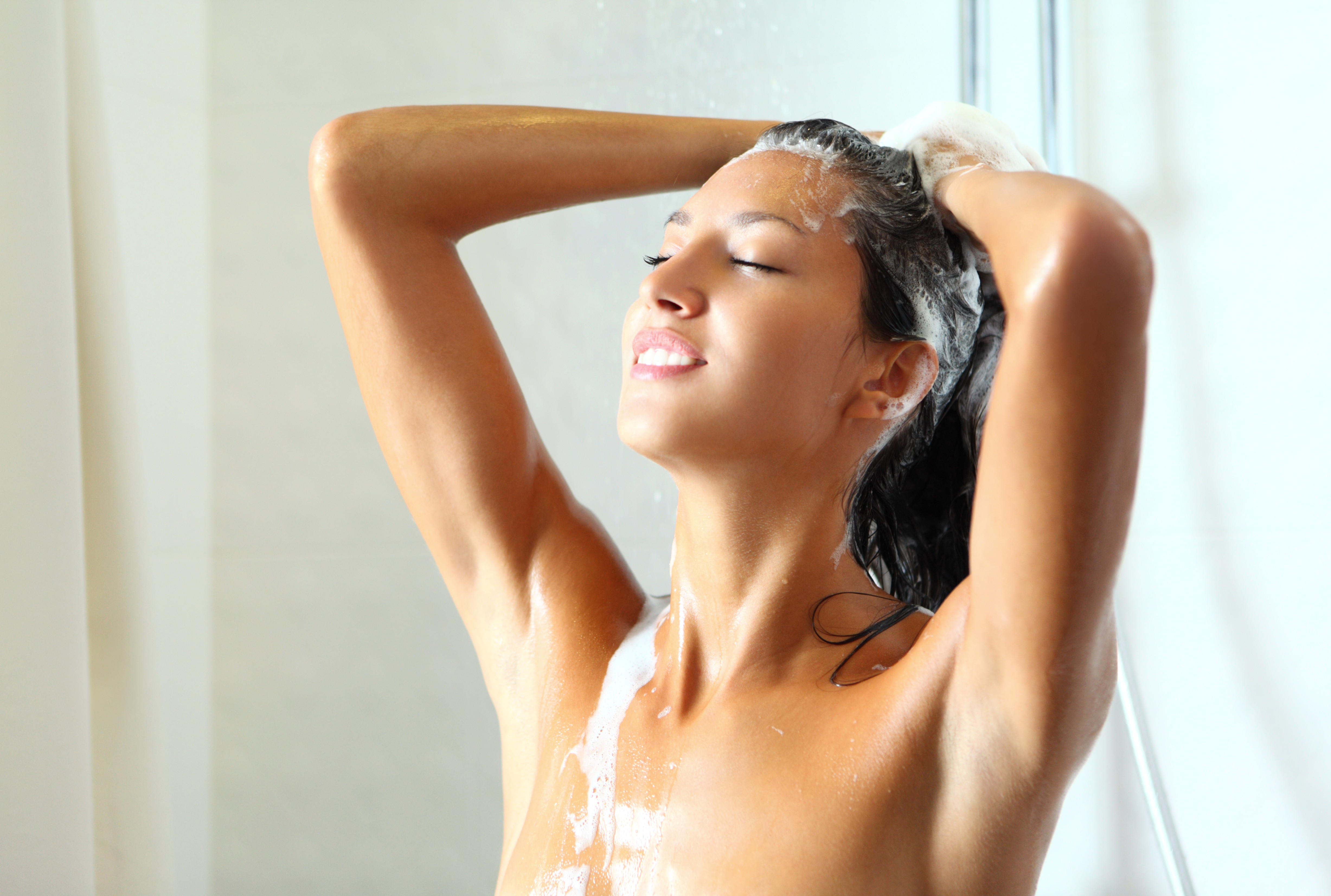 Having a shower instead of a bath is an efficient way to save water