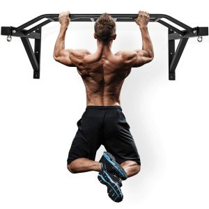 Gronk Fitness Wall Mounted Pull Up Bar
