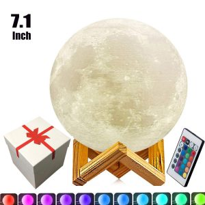 7.1-inch Full Moon Lamp
