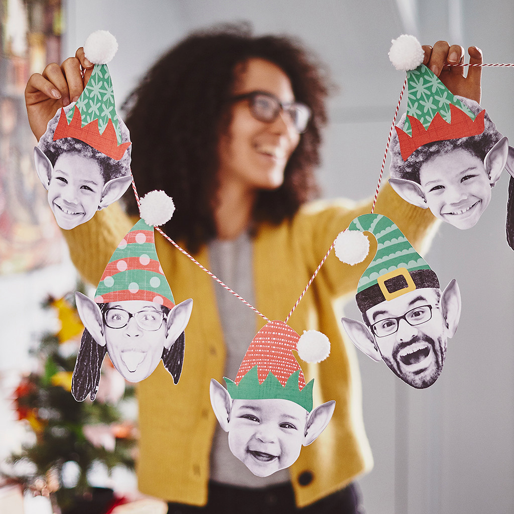 Amuse your guests with personalised touches like these elf decorations
