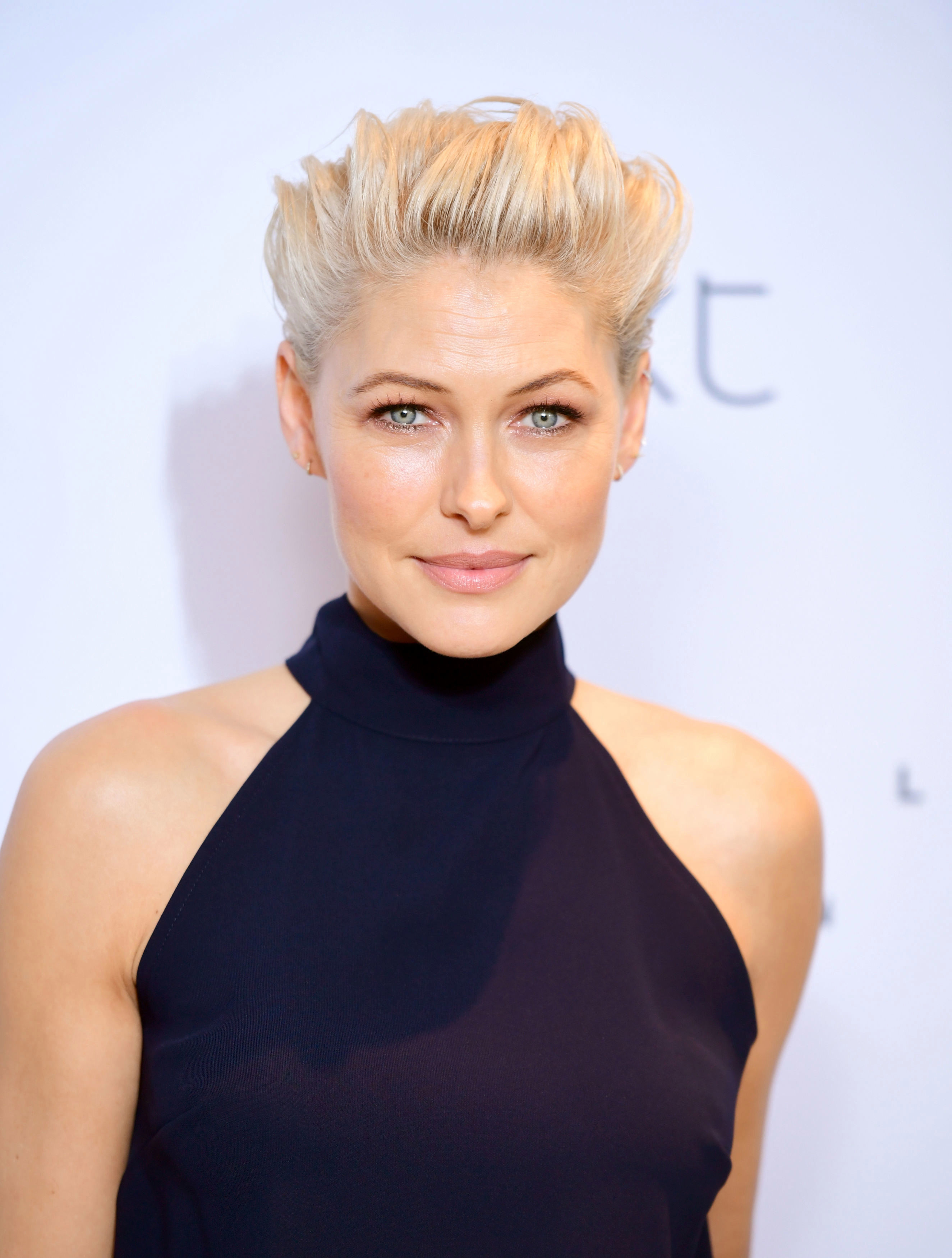 The hottest hairstyle this winter is the quiff, look to celebs like Emma Wills for style inspo