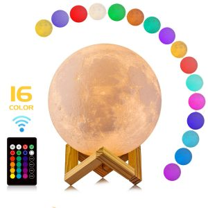 LOGROTATE Moon Lamp
