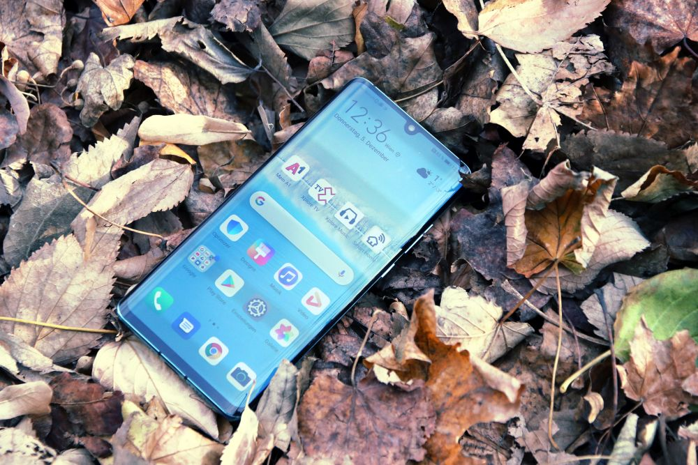 Huawei P30 Pro test top view