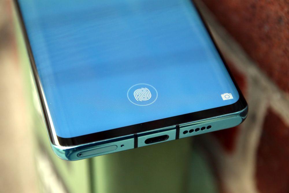 Huawei P30 Pro test fingerprint sensor