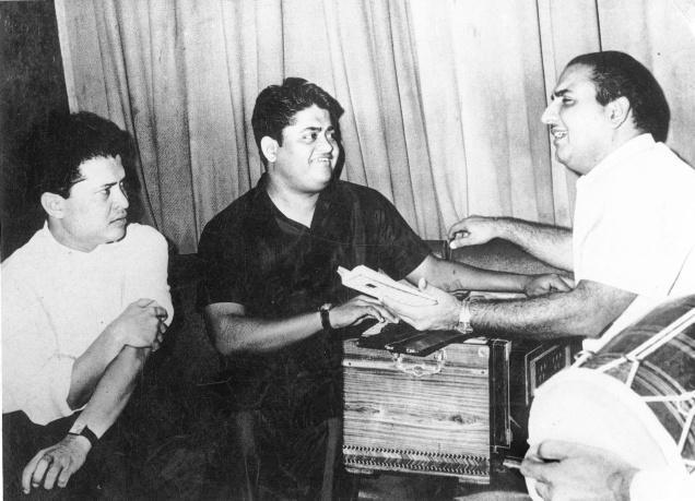 Laxmikant Pyarelal With Mohd. Rafi