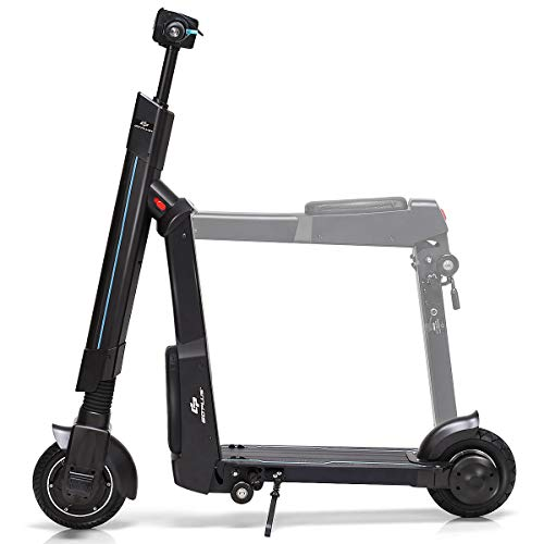 Goplus Electric Kick Scooter, Foldable and Portable Design, Speed Up to 15.5MPH, 12.5 Mile Range of...