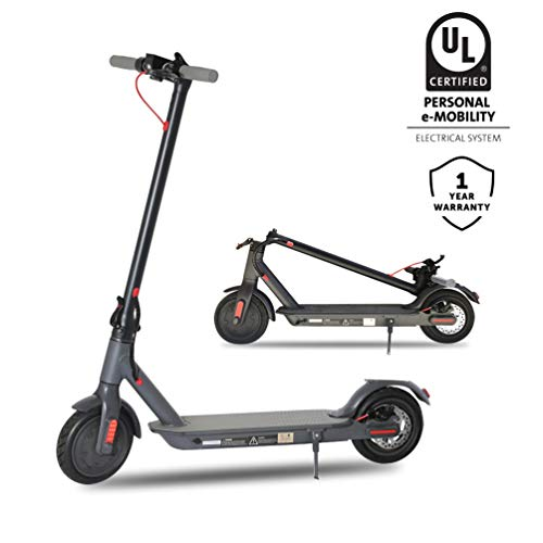 Emaxusa Electric Scooter for Adults, UL Certified Portable Folding Motorized Scooter 8.5' Tires,300W...