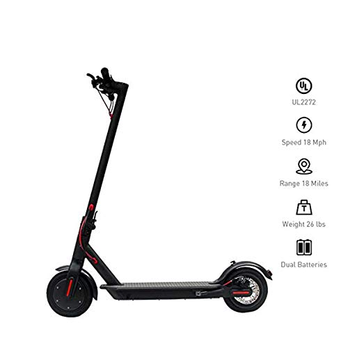 YDS Electric Scooter, 8.5-inch Vacuum Tire Foldable Commuter Upgraded, Suitable for Adults Kids (US...