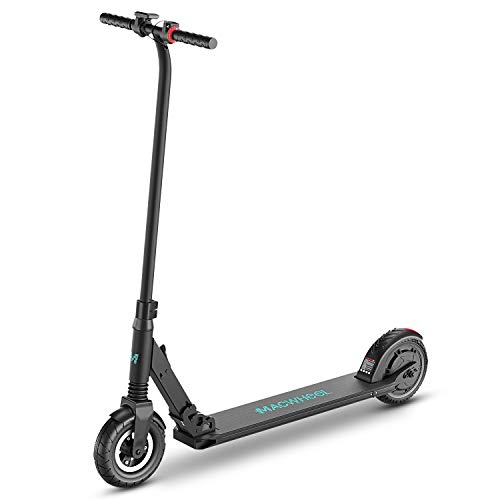 Macwheel Foldable Lightweight Electric Scooter, 8' Airless Foam Filled Tires, Powerful 300W Motor,...