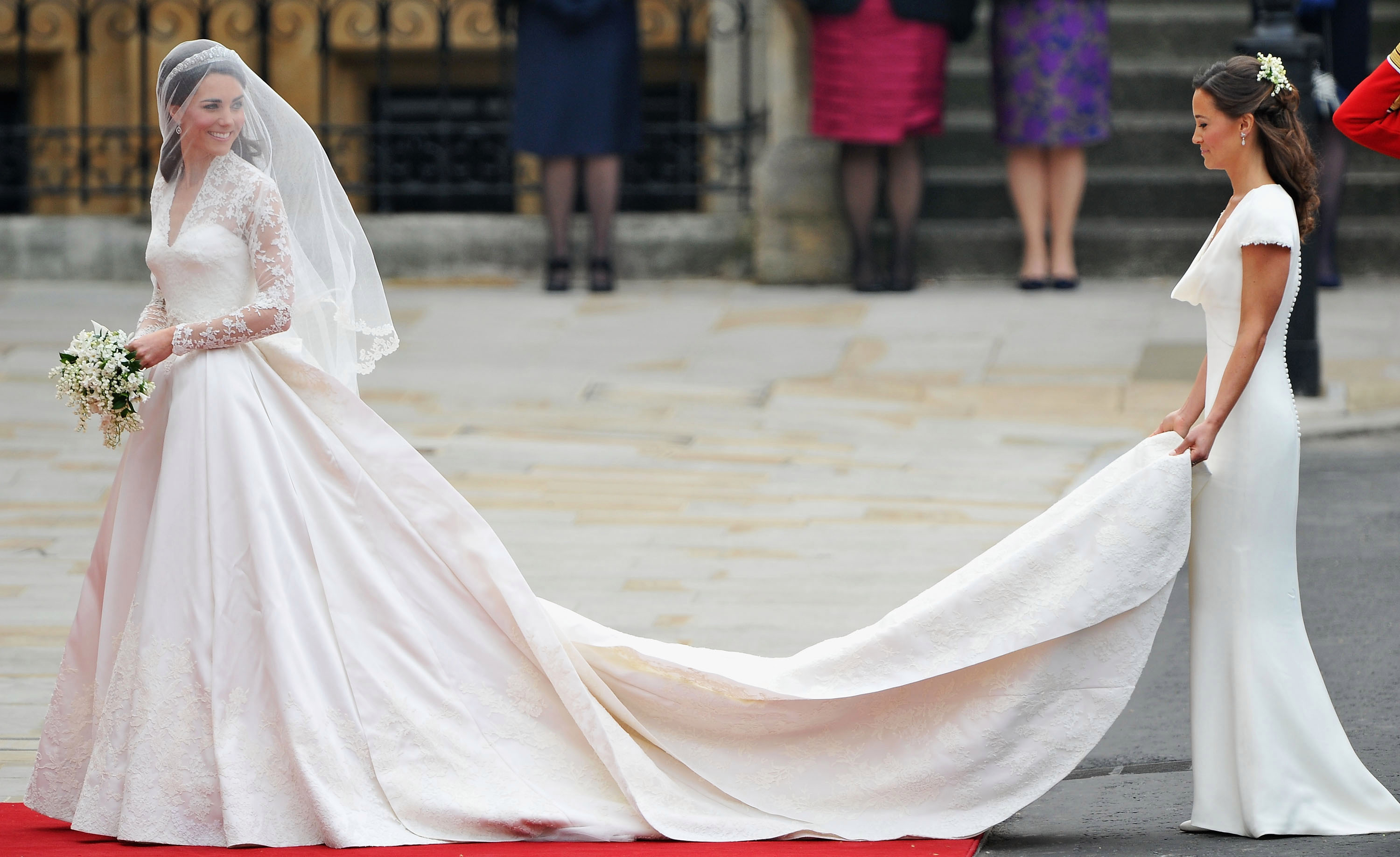 Bridesmaid Pippa Middleton became an instant star