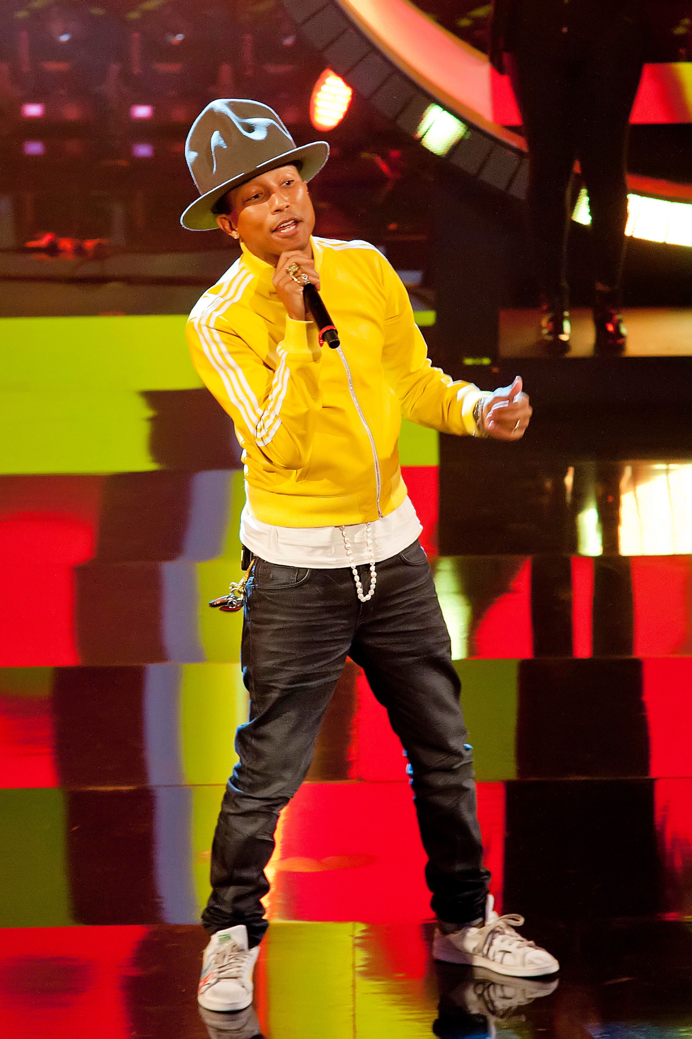 Pharrell Williams didn't expect the success of his hit Happy in 2013